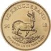 Zlatá mince Krugerrand 1/2 Oz 2018