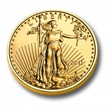 Investiční zlato American Eagle zlatá mince 1/10oz