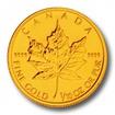 Investiční zlato Maple Leaf zlatá mince 1/10oz