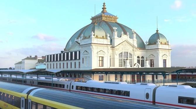 Zdroj vizualizací: Správa železnic