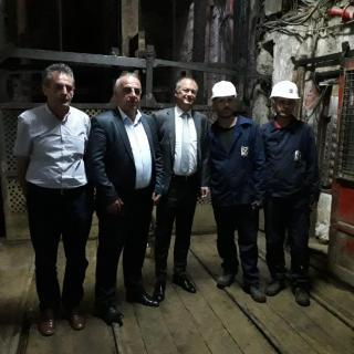 Návštěva důlního kombinátu Trepča