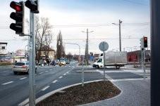doprava přednádraží křižovatka