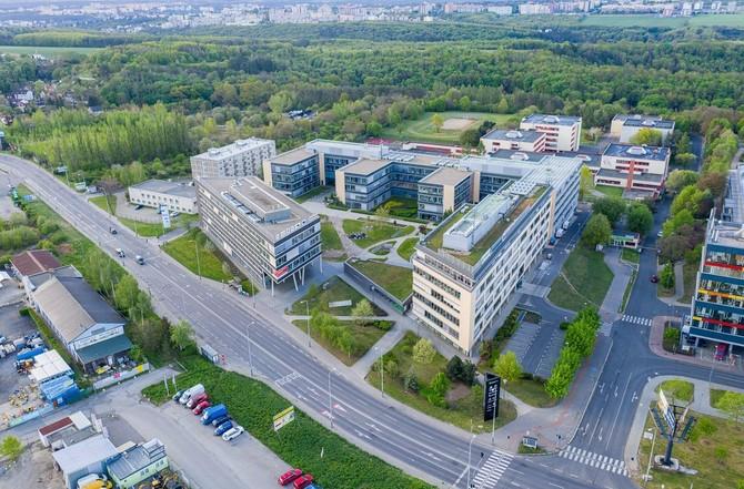 Komplex s pronajímatelnou plochou 25 600 m2