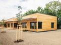 Školka v Třebešíně je moderní dřevostavba