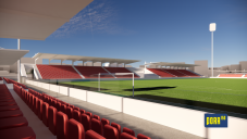 Letní stadion vizualizace