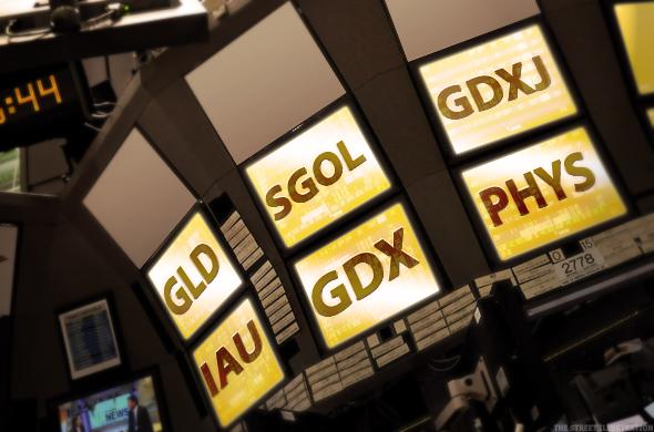 Investování do zlata - ETF