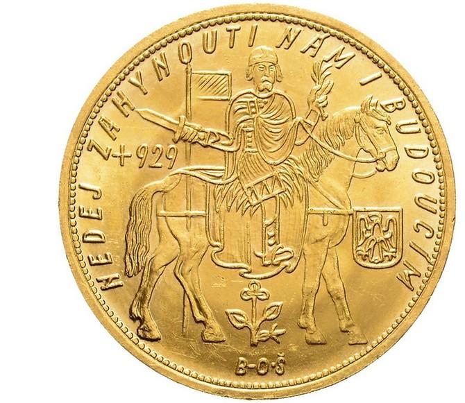 Celkem se na aukci objevilo 32 Svatováclavských dukátů