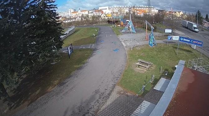Škoda sport park (ilustrační záběr)