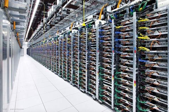 Google datacentrum