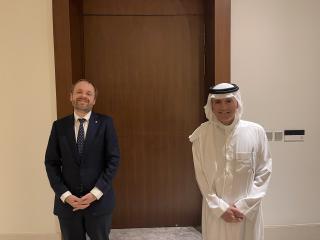 Ministr Kulhánek navštívil Saúdskou Arábii, podpořil české firmy