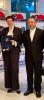 Ms. Daniela Ryugo and Mr. Taku Shinohara (TUFS)