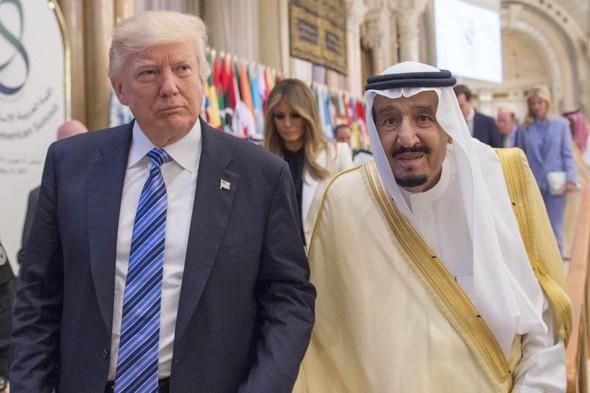 Trump - Salmán